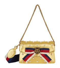 4473bb69e57 Gucci Broadway Tiger Head Shoulder Bag available to buy at Harrods.Shop for  her online and earn Rewards points.