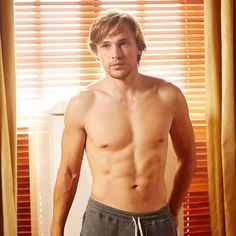 """And abs of steel. 