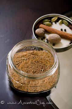 Paleo masala chai spice blend