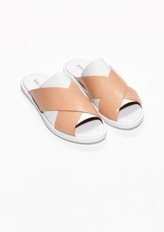 & Other Stories | Layered Crisscross Sandals