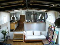 Houseboat, London.