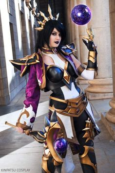 Kinpatsu Cosplay ♥ Li Ming from Heroes of the Storm I'm still dying to do both Johanna and Nova too hopefully I can do both within the next year. Photo by Eric Solomon Anime Costumes, Cosplay Costumes, Diablo Cosplay, Heroes Of The Storm, Victoria, Strong Girls, Geek Girls, Best Cosplay, Cosplay Girls