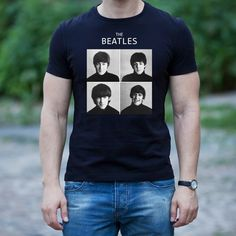 Rock Shirts, Band Shirts, Beatles Shirt, Etsy Shop, Unisex, Trends, Boutique, Birthday, Amazing