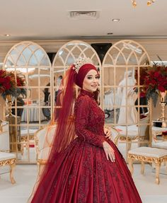 Muslim Wedding Gown, Hijabi Wedding, Muslimah Wedding Dress, Hijab Style Dress, Wedding Gowns, Bridal Dresses, Bridesmaid Dresses, Prom Dresses, Hijab Stile