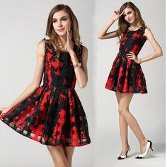 Women Print Boho Dresses Grid See Through Slim Fashion Party Dresses Sleeveless Design European Fashion Casual Dress Online with $20.24/Piece on Smartmart's Store | DHgate.com