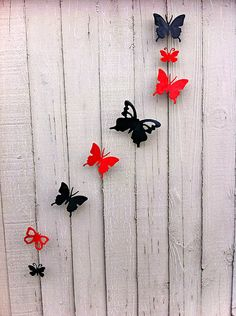 Wall decor recycled art on pinterest for Aluminum can decorations