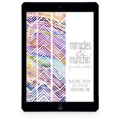 Miracles and Munchin' | eBook Design by Emily M. Thompson | Indie Shopography