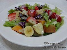 Fruit Salad, Cobb Salad, Korean Food, Baby Food Recipes, Potato Salad, Nutrition, Snacks, Cooking, Ethnic Recipes