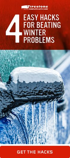 From frozen locks to spinning tires, winter is a challenge for any driver. But it's still no match for Firestone Complete Auto Care! Check out easy solutions for these four, common winter-weather woes.
