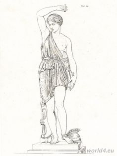 Ancient Greek Warrior Clothing