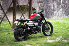 This Scrambler exhaust offers the perfect sound to this Triumph.