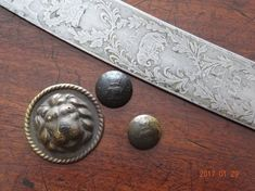 Relics of the War of 1812- 19TH LIGHT DRAGOONS OFFICER'S SABRE AND BUTTONS