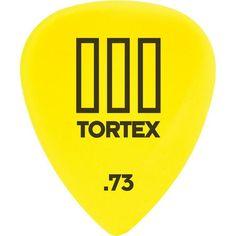 Dunlop Tortex T3 Sharp Guitar Picks .73mm (12)