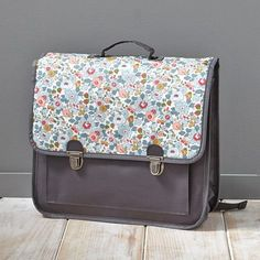 Cartable primaire fille imprimé Liberty - Cyrillus