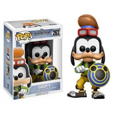 Funko Pop! Goofy 263, Pateta, Disney, Kingdom Heart,s Funkomania