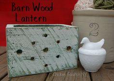 Barn Wood Lantern