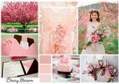 Cherry Blossom Inspiration Boards, Simple Weddings, Cherry Blossom, Table Decorations, Home Decor, Decoration Home, Room Decor, Cherry Blossoms, Dinner Table Decorations
