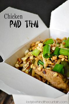 I looked in several grocery stores for tamarind ( the staple for making Pad Thai). This Chicken Pad Thai is made WITHOUT tamarind. If you're living in a