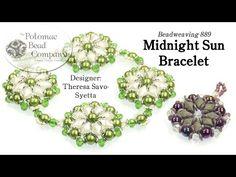 Midnight Sun Bracelet #Seed #Bead #Tutorials