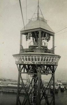 Barcelona Años 60.- Torre de Sant Jaume/Restaurant Mirador