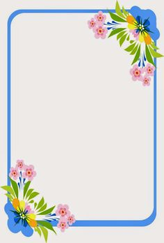 Caratulas y Recursos para Estudiantes: caratulas para cuadernos de niñas segundo pack Frame Border Design, Boarder Designs, Page Borders Design, Printable Border, Printable Labels, School Border, Boarders And Frames, Border Templates, School Frame
