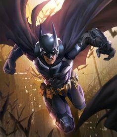 Batman from Injustice 2 Mobile Batman 4 Batman Wonder Woman, I Am Batman, Batman Art, Superman, Batman Cartoon, Gotham Batman, Batman Robin, Comic Books Art, Comic Art