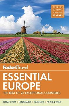 "Read ""Fodor's Essential Europe The Best of 25 Exceptional Countries"" by Fodor's Travel Guides available from Rakuten Kobo. Written by locals, Fodor's travel guides have been offering expert advice for all tastes and budgets for more than 80 ye. Travel Guides, Travel Tips, Travel Books, Travel Around The World, Around The Worlds, Top Destinations, Travel Information, Guide Book, Country Roads"