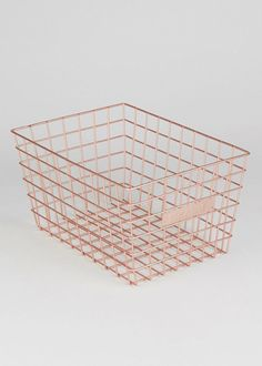 Apartment storage bathroom wire baskets 57 ideas for 2019 Rose Gold Room Decor, Rose Gold Rooms, Gold Bedroom Decor, Copper Room Decor, Room Decor Bedroom Rose Gold, Copper Bedroom, Glam Bedroom, University Rooms, Uni Room