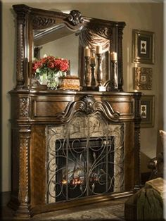 Luxurious mantel