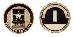 SOLDIER FOR LIFE - FIRST LIEUTENANT RANK - ITEM CC-1374