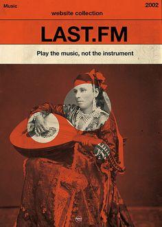 Retro Last.FM Poster