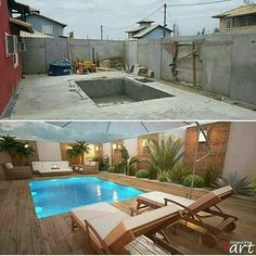 Backyard with swimming pool conversion Source by dssalz Related posts: Backyard with swimming pool conversion Hinterhof Pool 46 Attractive Small Pool Backyard Designs Ideas To Inspire You Inspirierende Design-Ideen für schöne Hinterhof-Deck-Setups – … Small Backyard Pools, Backyard Pool Designs, Small Pools, Swimming Pools Backyard, Swimming Pool Designs, Backyard Landscaping, Backyard Ideas, Landscaping Design, Patio Ideas