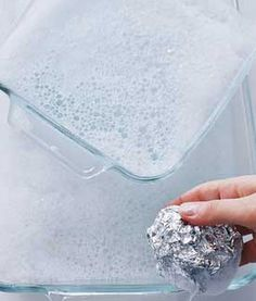 Helpful uses for aluminum foil