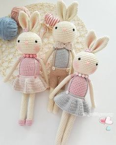 Amigurumi rabbit