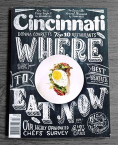 Cincinnati Magazine Cover by Joel Holland.