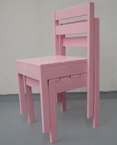 Ana White: PLAN: Four Dollar Stackable Children's Chair