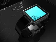 Gravity LCD Watch
