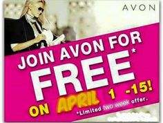 Great time to start your AVON Business!!! YAY!!!! Awesome time to start your own business with over 100 years of success. Want more info? Please fill out the form below to get you started today. :) http://www.StartAvon.com Ref Code: bobby