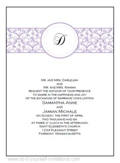 Place Cards Butterfly Wedding Invitations Peach And Lavendar