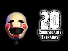 TOP 20: Las 20 Curiosidades Extrañas Del Endoesqueleto de Five Nights At…