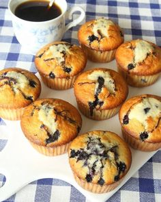 Ingredients 2 cups all-purpose flour cup sugar 1 teaspoon baking powder 1 teaspoon baking soda teaspoon salt 1 Read the Rest. Muffin Recipes, Cake Recipes, Dessert Recipes, Lemon Blueberry Muffins, Blue Berry Muffins, Baking Muffins, Swedish Recipes, Swedish Foods, Fudge Brownies
