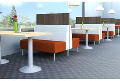ERG International   Banquettes and Clusters   Banquettes   Tivoli