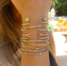 @gabrielco Diamond Bangles