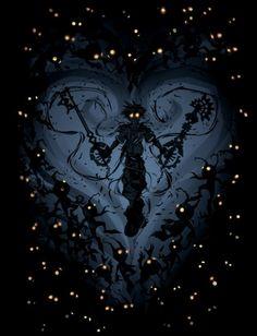 Heartless Sora (Kingdom Hearts) by ChasingArtwork Sora Kingdom Hearts, Kingdom Hearts Tattoo, Kingdom Hearts Heartless, Final Fantasy, Dark Fantasy, Fantasy Art, Bild Tattoos, Arte Obscura, Heart Wallpaper