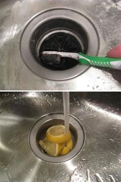DIY Cleaning Kitchen Sink