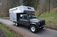 Bimobil Husky 235, Land Rover Defender 130 4×4 overland vehicle For Sale   Campervan Culture