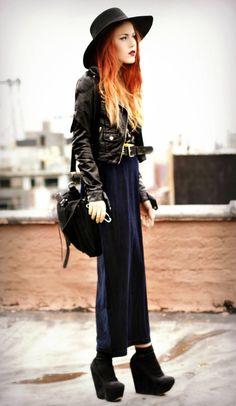 ultramarine & black