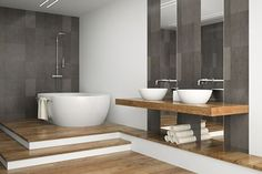 JIS Europe Ltd: Lindfield flat front stainless steel heated towel rail 2 of 4 Mosaic Bathroom, Mosaic Tiles, Bathroom Interior Design, Interior Decorating, Decorating Ideas, Mosaic Artwork, Heated Towel Rail, Mosaic Designs, Minimalist Home