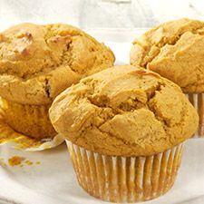 Gluten-Free Pumpkin Muffins: King Arthur Flour - add a few chocolate chips for…