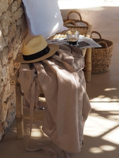 Enjoy stylish life with Balmuir's high end fashion and home decor products. Find more at www.balmuir.com  #balmuir #linen #summer #chic #hat #panamahat #linendress #glass #home #homedecor #style #fashion #vacation #inspo #inspiration #editorial #blog Summer Editorial, New Tone, Flat Lay Photos, Summer Chic, High End Fashion, Summer Collection, Panama Hat, Terrace, Style Fashion